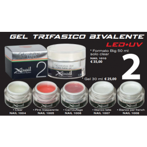Gel costruttore Trifasico UV e LED 30ml
