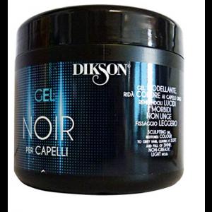 Gel NOIR per capelli GRIGI o BIANCHI modellante 500ml