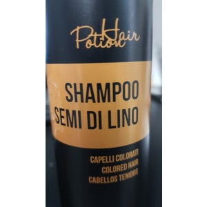Shampoo SEMI DI LINO per cap.colorati Hair Potion 250ml