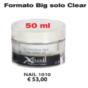 Gel costruttore Trifasico UV e LEDClear BIG 50ml