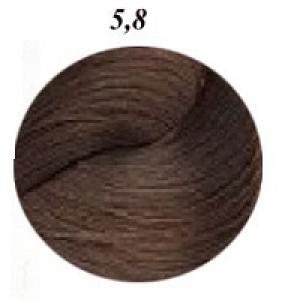 MAJIREL N°5,8- CASTANO CHIARO MARRONE MOKA  50ML Loreal Professionnel