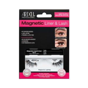 Ciglia Magnetiche + Eyeliner Magnetico Kit Ardell Accents002