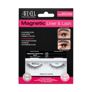 Ciglia Magnetiche + Eyeliner Magnetico Kit Ardell 110