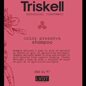 Shampoo COLOR PRESERVE senza Sale Triskell 300ml