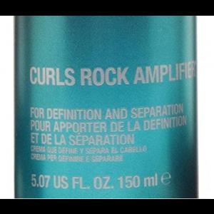 CURLS ROCK TIGI CATWALK, Amplifier, per maggiore definizione e controllo dei ricci, 150 ml