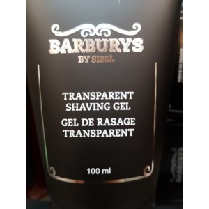 Gel trasparente da rasatura BARBURYS 100ml
