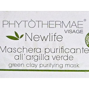 Maschera viso All'argille verde purificante 500ml