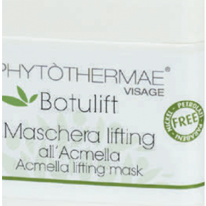 Maschera lifting viso all'Acmella 200ml