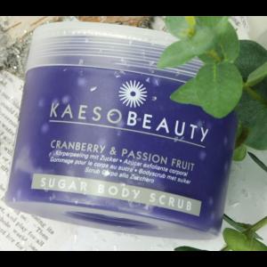 Scrub Corpo Mirtillo e Frutto della Passione 450ml - KAESO BEAUTY