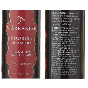 Shampoo NOURISH MARRAKESH 355ml